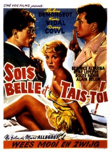 Sois belle et tais-toi 1958 rŽal : Marc AllŽgret Collection Christophel